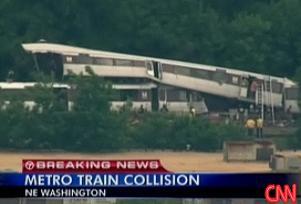Washington'da metro kazası: 4 ölü.11305