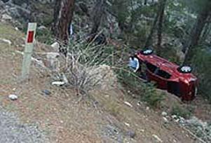 Cide'de trafik kazası: 3 ölü.15740