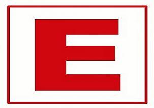 Eczanelerin ışıklı E logosuna düzenleme.8218