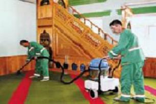 Okullara ve ibadethanelere temizlik.12285