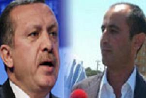 Başbakan Erdoğan ile suikastçi yüz yüze.9276