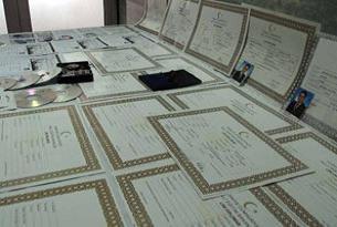 Sahte lise diploması operasyonu.14444