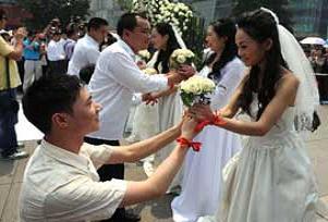 Ayrılacak çiftlere Çin işi çözüm.16012