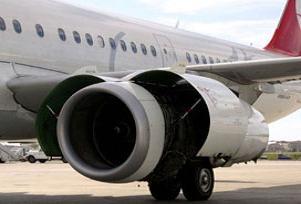 THY uçağı pistte büyük tehlike atlattı!.11296