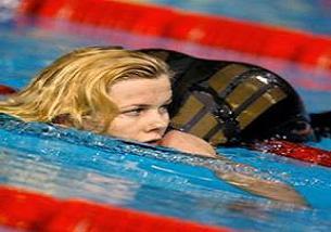 Yüzmede dünya rekoru kırıldı.14560