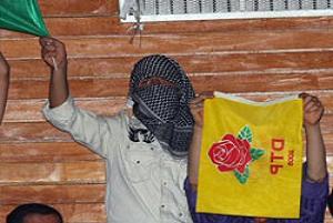 Tunceli'de 8 DTP'li tutuklandı.15028