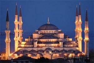 Sultanahmet'te Regaip Kandili coşkusu.12190