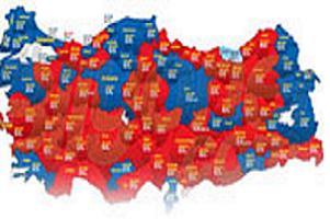 İl il Türkiye'nin taraftar sayısı.14335