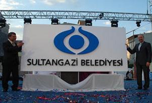 Sultangazi'nin logosu belli oldu.14349