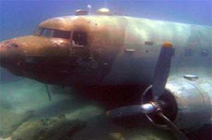 Dev nakliye uçağı sulara gömüldü.8209