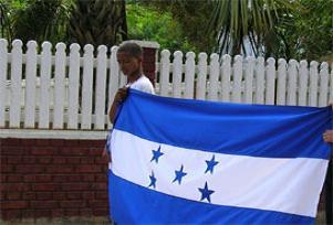 Honduras'ta işler çığrından çıktı.14528