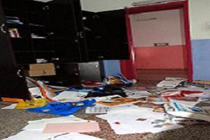 3 öğrenci okulu savaş alanına çevirdi.12687
