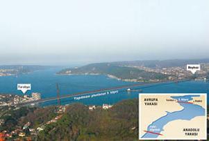 Bakan, 3. Köprü için İstanbulluları uyardı.9774