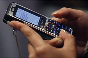 Açık  saçık SMS'e hapis cezası