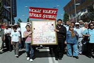 Sivas katliamı kurbanları anılıyor.16107