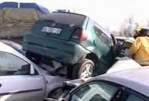 Çorum'da zincirleme kaza: 2 ölü 7 yaralı.11713