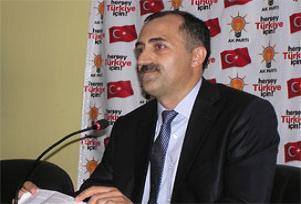 AKP'li başkandan Mevlana felsefesi.12887