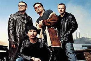 U2 grubuna İspanya'da gürültü cezası.16358