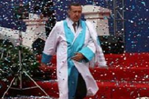 İÜ'den Erdoğan'a 'Fahrî Doktora' ünvanı.17000