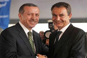 Erdoğan ve Zapatero'ya fahri doktora unvanı.11172