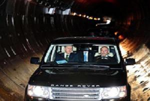 Erdoğan, Boğaz'ın 140 metre altında.12470