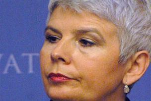 Hırvatistan'da ilk kadın başbakan.10732