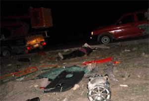 Bulgaristan'da kazada 7 Türk öldü.10867