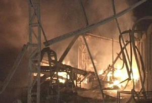 Kocaeli'de kozmetik fabrikasında patlama.11038