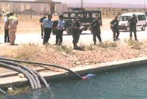 Kırıkkale'de kanalda çocuk boğuldu.13160