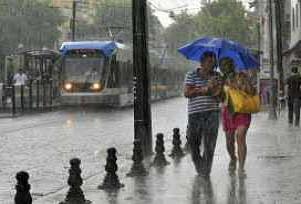 İstanbul sağanak yağışla serinledi.13160