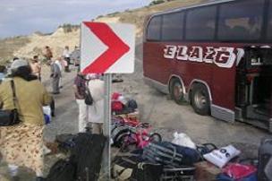 Otobüs ile otomobil çarpıştı: 2 ölü.13946
