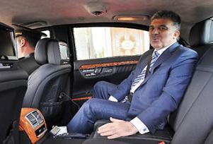 Abdullah Gül Ankara'ya döndü.14200