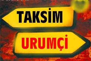 Çin katliamına karşı 17.00'da Taksim'e.13994
