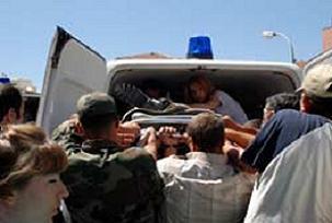 Mayın kurbanları ailelerine teslim edildi.12052