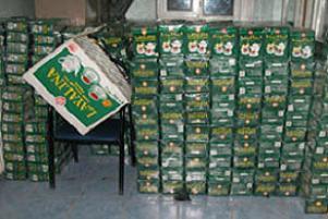 Gaziantep'te 'kaçak çay' operasyonu.16559