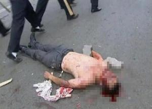 Çin: Olayları çıkaranları idam edeceğiz.9779