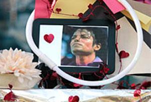 Jackson'un cenazesine ünlü yağmuru.14260