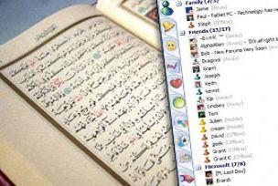 MSN üzerinden Kuran'ı öğretiyor.17152