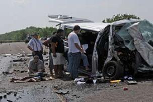 Kaza kurbanı gurbetçi aile toprağa verildi.13746