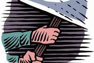 Peru'da 156 eylemci gözaltına alındı.15370