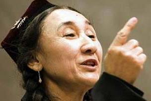 'Uygurların anası' Türkiye'ye geliyor.9827