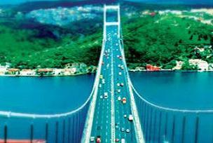 3'üncü köprüden tren yolu da geçecek.14585