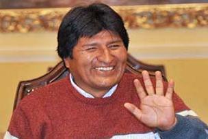 Evo Morales, 'zoraki darbeci' olmuş.11421
