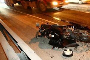 Motosiklete binen aile kaza yaptı!.14999