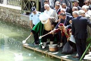 Akşehir gölünü canlandırma çabaları.17318