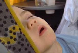 Kalbine cam saplanan çocuk öldü.9407