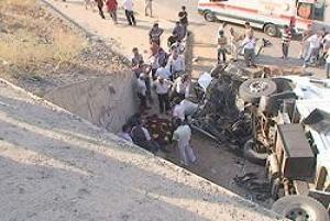 Malatya'da trafik kazası: 1 ölü, 2 yaralı.17872