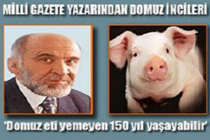 Domuz eti yiyen eşcinsel de olur grip de!.13808
