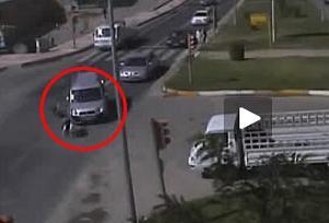 MOBESE'ye tak�lan trafik kazalar�! V�DEO.10130