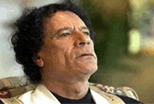 Kaddafi  bu ülkenin bölünmesini istiyor